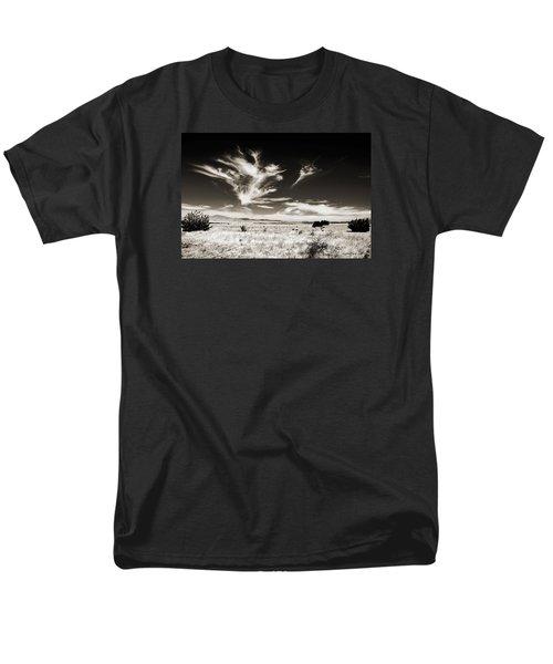 Chihuahuan Desert In Sepia Men's T-Shirt  (Regular Fit) by Allen Sheffield