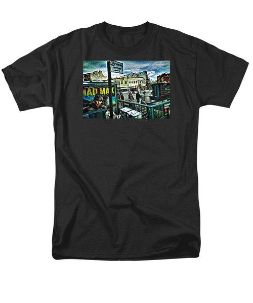 Christopher Street Greenwich Village  Men's T-Shirt  (Regular Fit) by Joan Reese