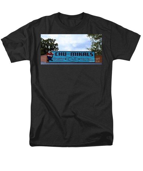 Chu - Mikals - Friendly Austin Texas Charm Men's T-Shirt  (Regular Fit) by Ray Shrewsberry