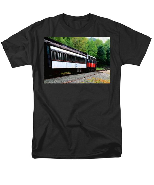 Men's T-Shirt  (Regular Fit) featuring the photograph Chugging Along by RC DeWinter
