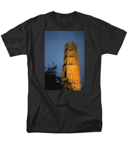 Men's T-Shirt  (Regular Fit) featuring the photograph Church Steeple by Jean Bernard Roussilhe