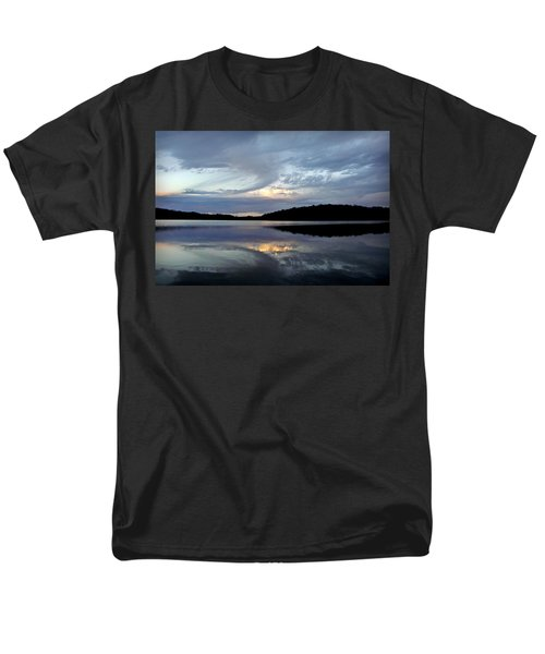 Men's T-Shirt  (Regular Fit) featuring the photograph Churning Clouds At Sunrise by Chris Berry