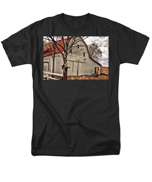 Men's T-Shirt  (Regular Fit) featuring the photograph City Barn by Joan Bertucci