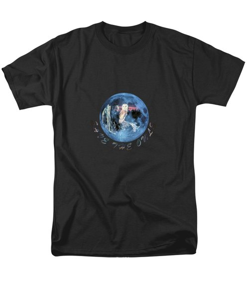 City Lights Men's T-Shirt  (Regular Fit) by Valerie Anne Kelly