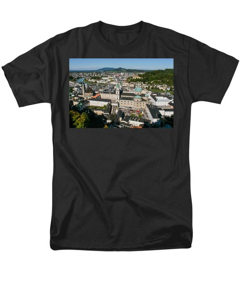 Men's T-Shirt  (Regular Fit) featuring the photograph City Of Salzburg by Silvia Bruno