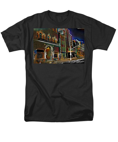 Men's T-Shirt  (Regular Fit) featuring the photograph City Scene by EricaMaxine  Price