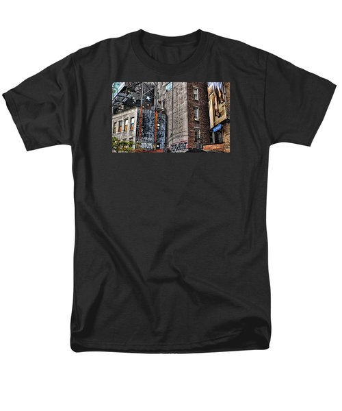 City Scenes Nyc Men's T-Shirt  (Regular Fit) by Steve Archbold