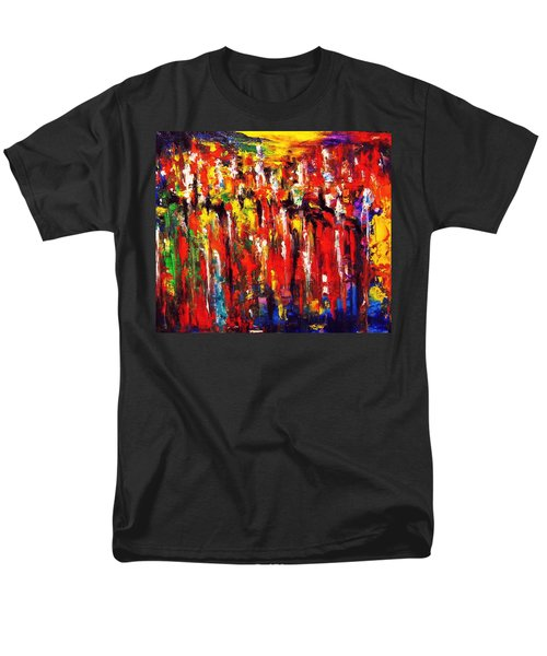 City. Series Colorscapes. Men's T-Shirt  (Regular Fit) by Helen Kagan