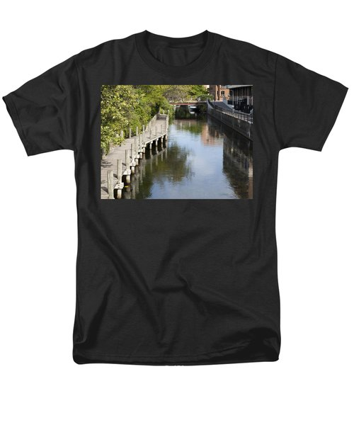 City Waterway Men's T-Shirt  (Regular Fit) by Tara Lynn
