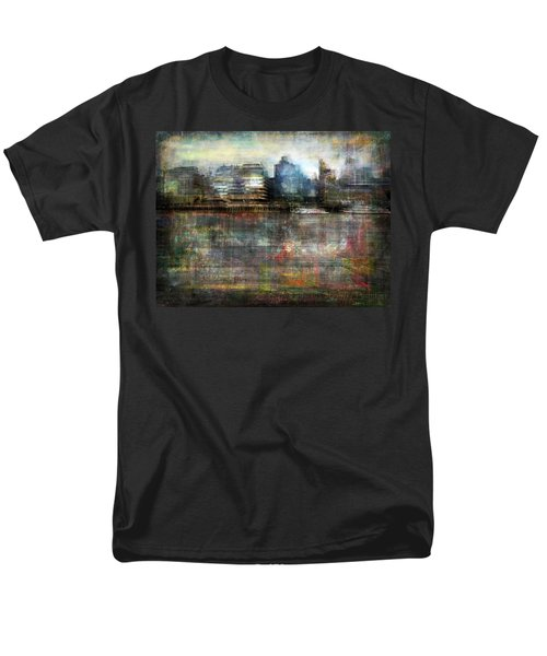 Cityscape #33. Silent Windows Men's T-Shirt  (Regular Fit) by Alfredo Gonzalez