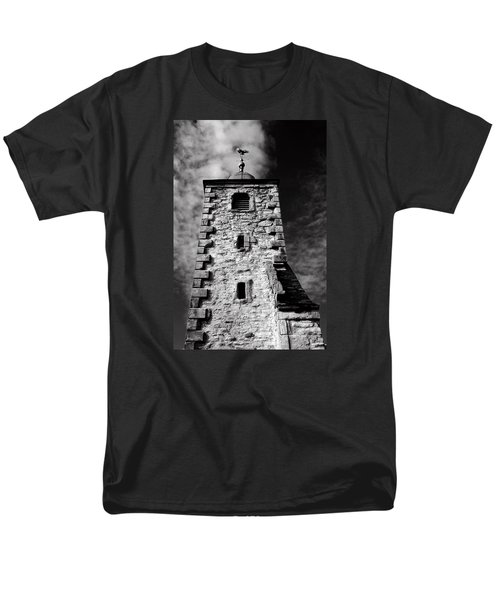Clackmannan Tollbooth Tower Men's T-Shirt  (Regular Fit) by Jeremy Lavender Photography