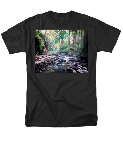 Clare Glens ,co Tipparay Ireland Men's T-Shirt  (Regular Fit) by Paul Weerasekera