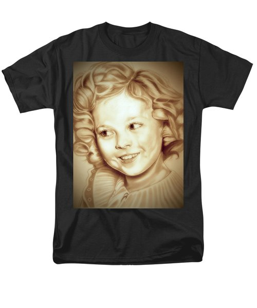 Classic Shirley Temple Men's T-Shirt  (Regular Fit) by Fred Larucci
