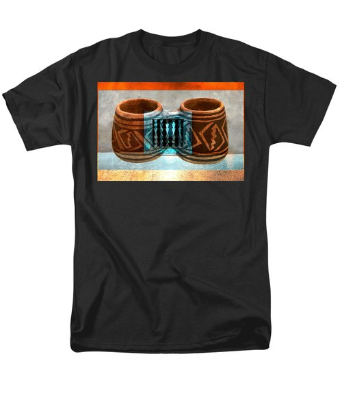 Men's T-Shirt  (Regular Fit) featuring the digital art Classsic Designs Of The Southwest by David Lee Thompson