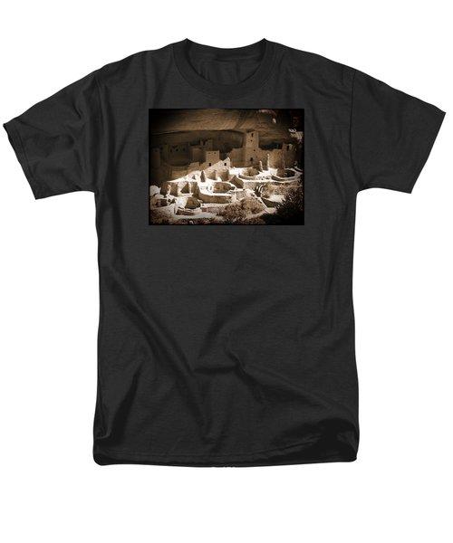 Men's T-Shirt  (Regular Fit) featuring the photograph Cliff Palace Mesa Verde by Kurt Van Wagner