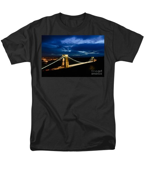 Clifton Suspension Bridge, Bristol. Men's T-Shirt  (Regular Fit) by Colin Rayner