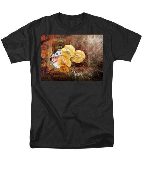 Clock Girl Men's T-Shirt  (Regular Fit)