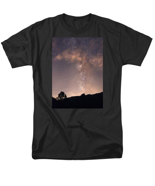 Clouds And Milky Way Men's T-Shirt  (Regular Fit) by Wanda Krack
