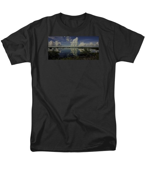 Clouds And Reflections Men's T-Shirt  (Regular Fit) by Dorothy Cunningham