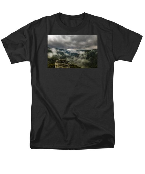 Clouds Rising At Lindy Point Men's T-Shirt  (Regular Fit)