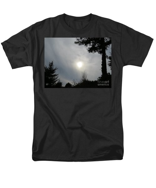 Men's T-Shirt  (Regular Fit) featuring the photograph Cloudy Sun by Michele Penner