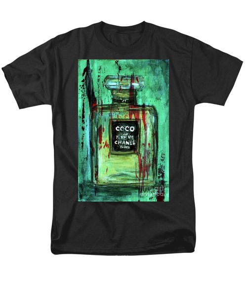 Men's T-Shirt  (Regular Fit) featuring the painting Coco Potion by P J Lewis