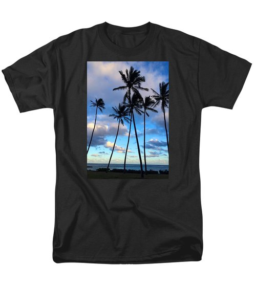 Men's T-Shirt  (Regular Fit) featuring the photograph Coconut Palms by Brenda Pressnall