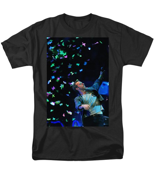 Coldplay1 Men's T-Shirt  (Regular Fit) by Rafa Rivas