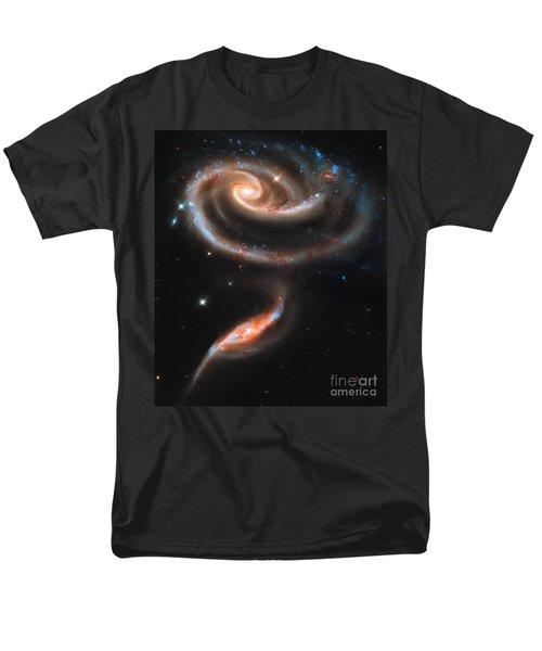 Colliding Galaxies Men's T-Shirt  (Regular Fit)