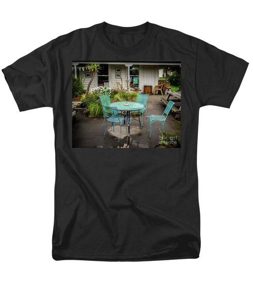 Men's T-Shirt  (Regular Fit) featuring the photograph Color At Cafe by Perry Webster