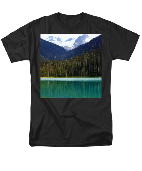 Lower Joffre Lake Men's T-Shirt  (Regular Fit) by Heather Vopni