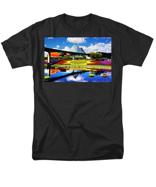 Men's T-Shirt  (Regular Fit) featuring the photograph Color Of Imagination by Greg Fortier