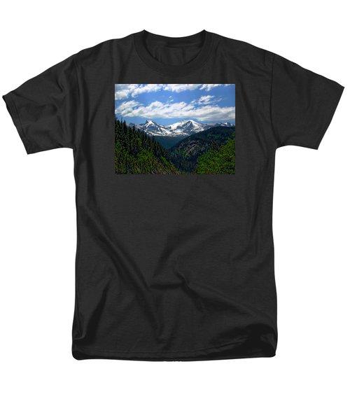 Colorado Rocky Mountains Men's T-Shirt  (Regular Fit) by Anthony Dezenzio