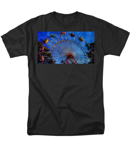 Colorful Ride Men's T-Shirt  (Regular Fit) by Sherman Perry