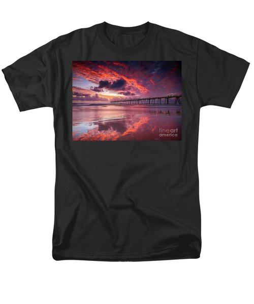 Colorful Sunrise Men's T-Shirt  (Regular Fit) by Rod Jellison