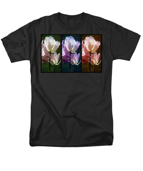 Coloured Tulips Men's T-Shirt  (Regular Fit) by Robert Meanor