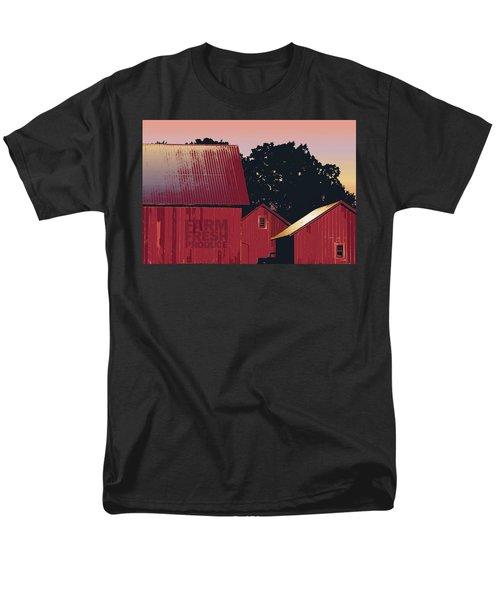 Columbia Maryland Farm - Farm Fresh Produce Men's T-Shirt  (Regular Fit) by Glenn Gemmell