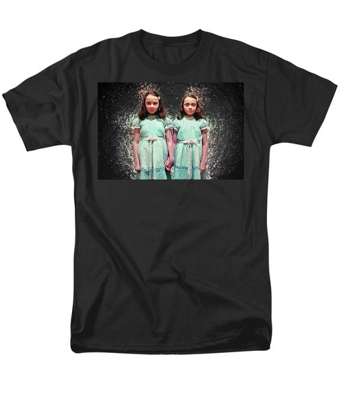 Come Play With Us - The Shining Twins Men's T-Shirt  (Regular Fit) by Taylan Apukovska