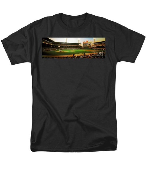 Comiskey Park  Men's T-Shirt  (Regular Fit) by Tom Jelen