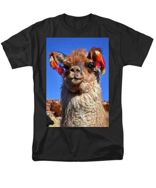 Men's T-Shirt  (Regular Fit) featuring the photograph Como Se Llama by Skip Hunt