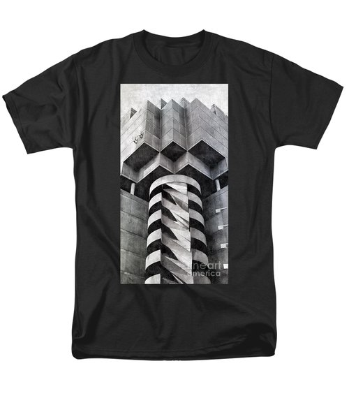 Concrete Geometry Men's T-Shirt  (Regular Fit) by Paul Wilford