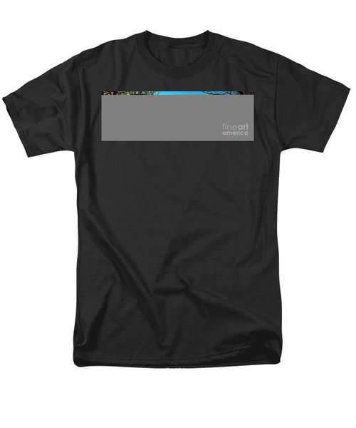 Men's T-Shirt  (Regular Fit) featuring the photograph Conley Road Winter  by Tom Jelen