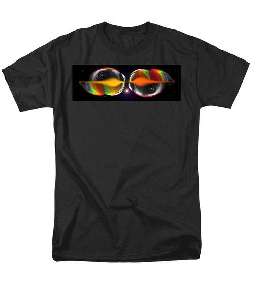 Connection Men's T-Shirt  (Regular Fit) by Charles Stuart