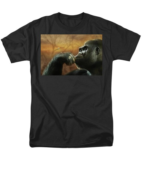Men's T-Shirt  (Regular Fit) featuring the photograph Contemplation by Lori Deiter
