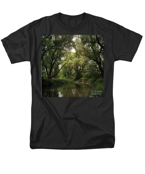 Cook County Forest Preserve No 6 Men's T-Shirt  (Regular Fit) by Kathy McClure