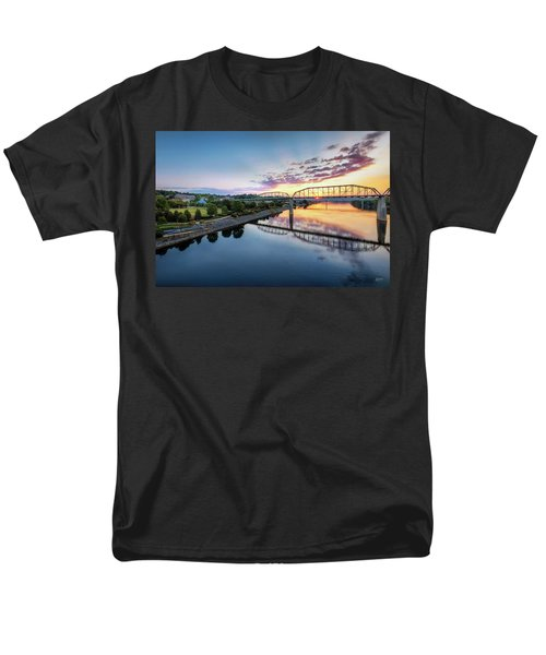 Coolidge Park Sunrise Men's T-Shirt  (Regular Fit) by Steven Llorca