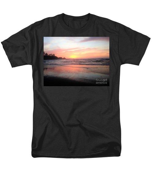 Coos Bay Men's T-Shirt  (Regular Fit) by Linda Shackelford