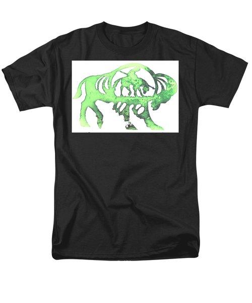Copper Buffalo Men's T-Shirt  (Regular Fit)