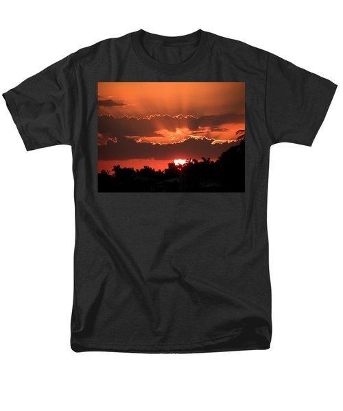 Copper Sunset Men's T-Shirt  (Regular Fit) by Rosalie Scanlon