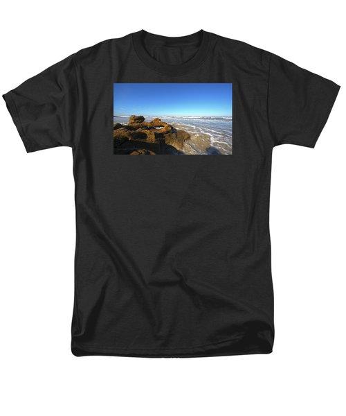 Coquina Beach Men's T-Shirt  (Regular Fit) by Robert Och